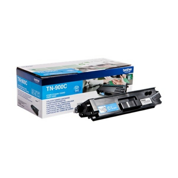 Original Brother TN900C Toner-Kit cyan 6.000 Seiten