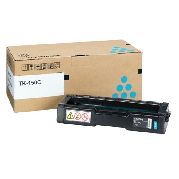 Original Kyocera 1T05JKCNL0 / TK-150 C Toner cyan 6.000 Seiten