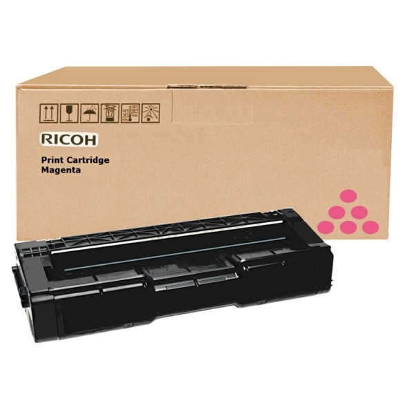 Original Ricoh 406350 / TYPE SPC 310 HE Toner magenta 2.500 Seiten