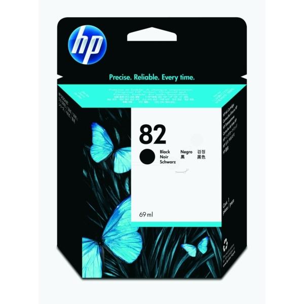 Original HP CH565A / 82 Tintenpatrone schwarz 69 ml 1.750 Seiten