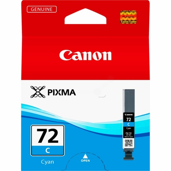 Original Canon 6404B001 / PGI-72 C Tintenpatrone cyan 14 ml