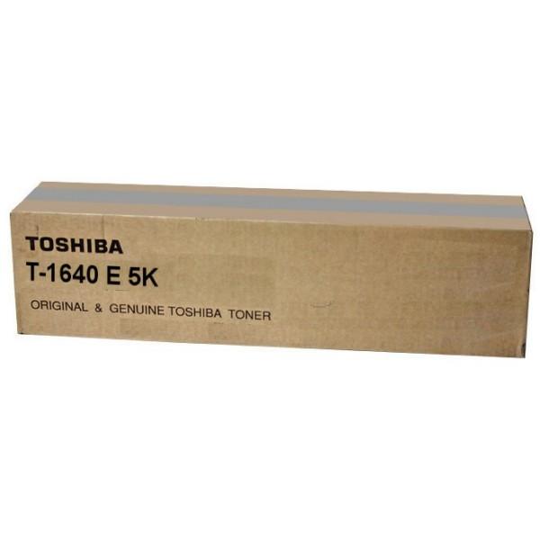 Original Toshiba 6AJ00000023 / T-1640 E 5K Toner schwarz 5.000 Seiten