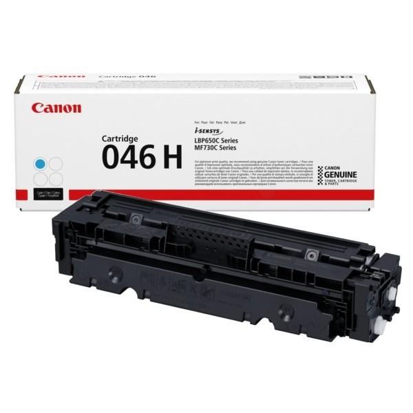 Original Canon 1253C002 / 046H Tonerkartusche cyan 5.000 Seiten