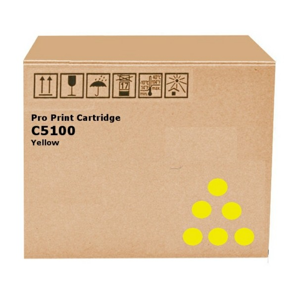 Original Ricoh 828222 Toner gelb 30.000 Seiten