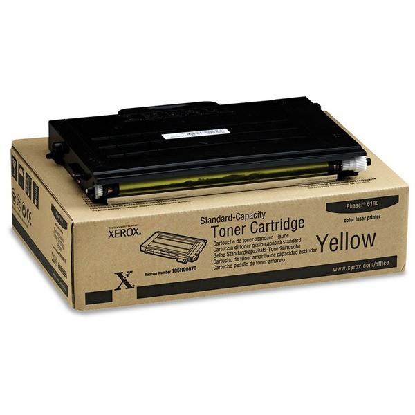Original Xerox 106R00678 Toner gelb 2.000 Seiten