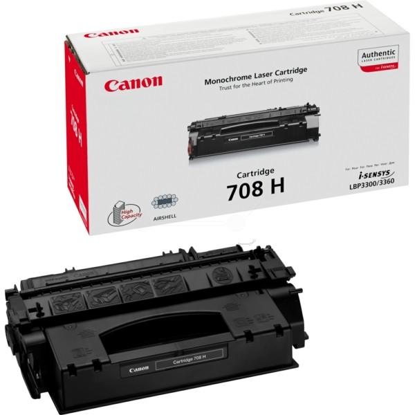 Original Canon 0917B002 / 708H Tonerkartusche schwarz 6.000 Seiten