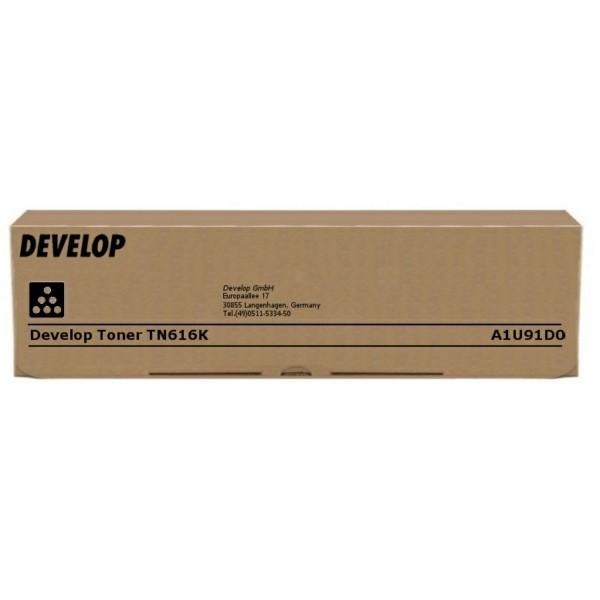 Original Develop A1U91D0 / TN-616 K Toner schwarz 41.500 Seiten