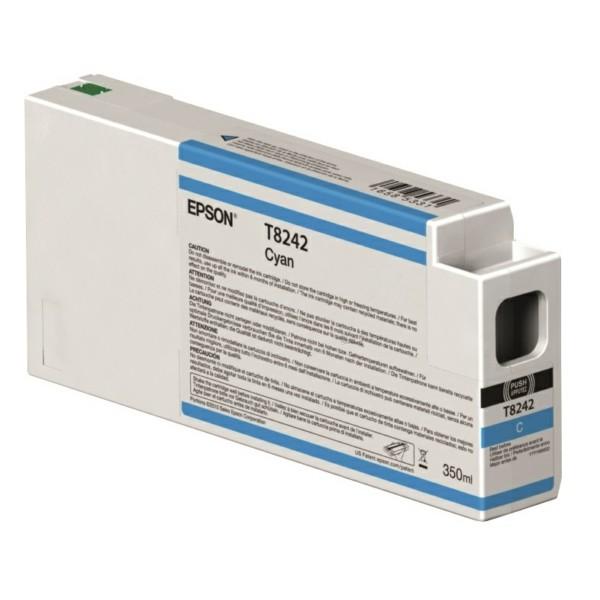 Original Epson C13T824200 / T8242 Tintenpatrone cyan 350 ml