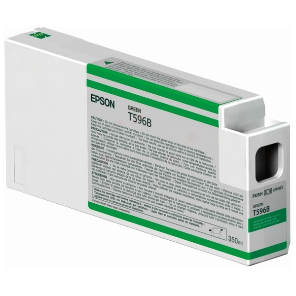 Original Epson C13T596B00 / T596B Tintenpatrone grün 350 ml