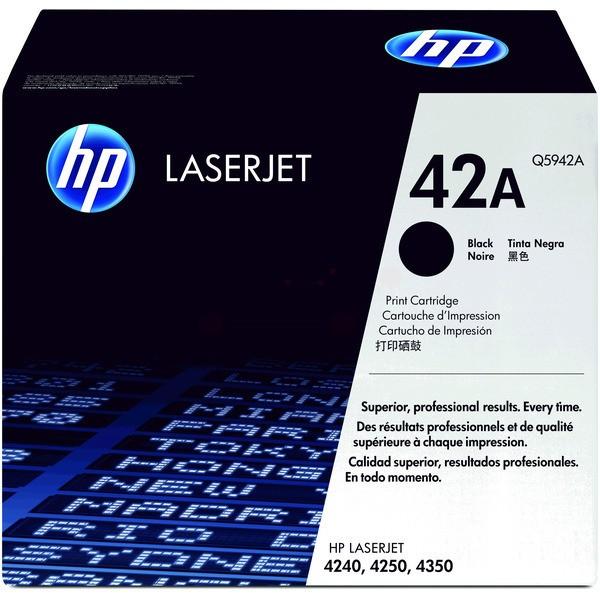 Original HP Q5942A / 42A Tonerkartusche schwarz 10.000 Seiten