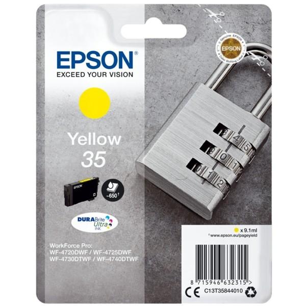 Original Epson C13T35844010 / 35 Tintenpatrone gelb 9,1 ml 650 Seiten