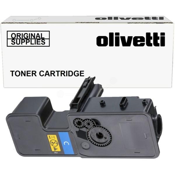 Original Olivetti B1238 Toner-Kit cyan 3.000 Seiten
