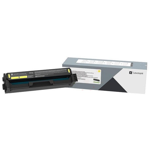 Original Lexmark C3220Y0 Toner-Kit gelb return program 1.500 Seiten