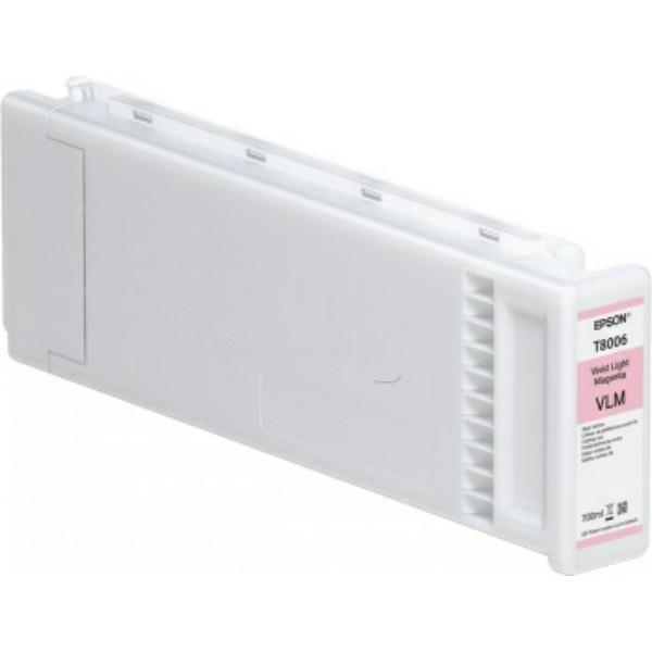 Original Epson C13T800600 / T8006 Tintenpatrone magenta 700 ml