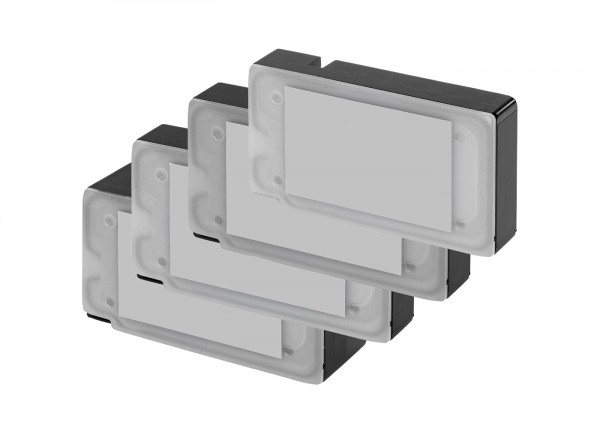 Alternativ Canon 9254B004 / PGI-2500XLBKCMY Tinte Multipack (Inhalt: bk,c,m,y)