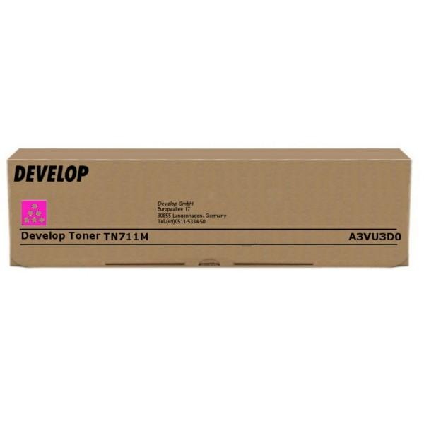 Original Develop A3VU3D0 / TN-711 M Toner magenta 31.500 Seiten