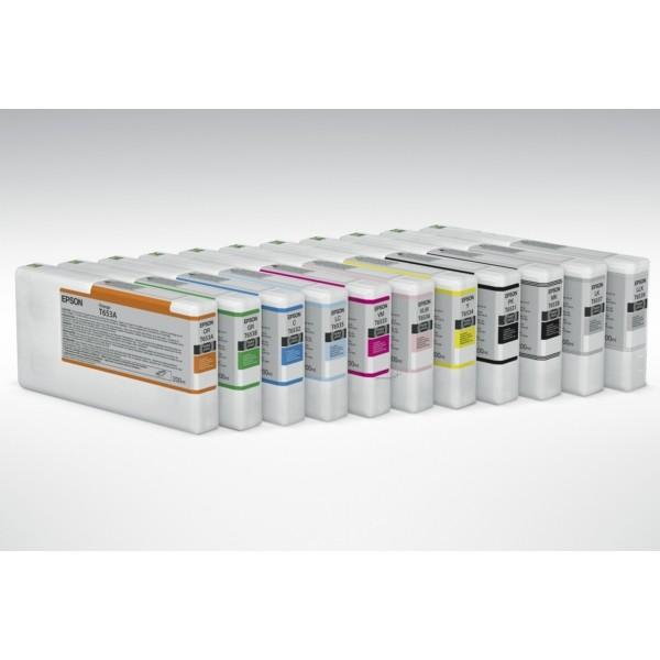 Original Epson C13T653400 / T6534 Tintenpatrone gelb 200 ml