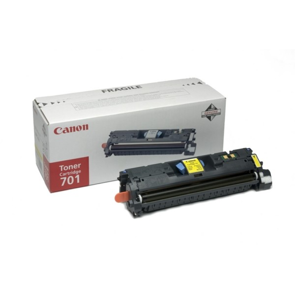 Original Canon 9284A003 / 701Y Toner gelb 4.000 Seiten