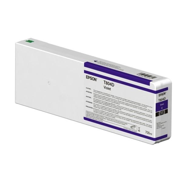 Original Epson C13T804D00 / T804D Tintenpatrone violett 700 ml