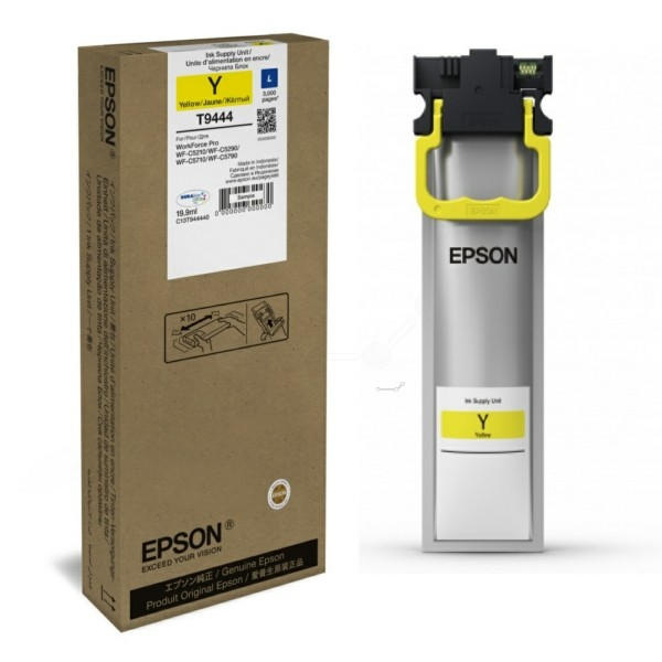 Original Epson C13T944440 / T9444 Tintenpatrone gelb 19,9 ml 3.000 Seiten