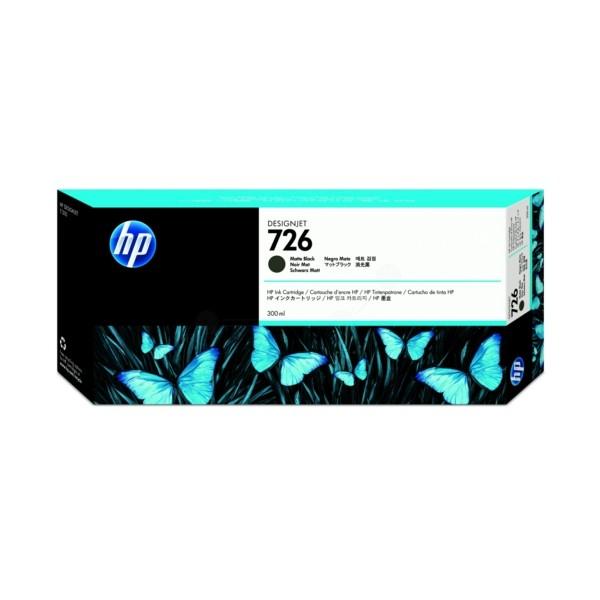 Original HP CH575A / 726 Tintenpatrone schwarz matt 300 ml
