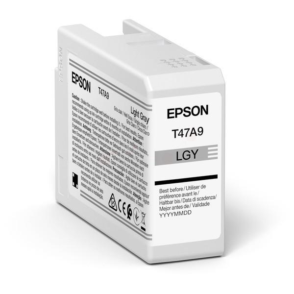 Original Epson C13T47A900 / T47A9 Tintenpatrone fotograu 50 ml