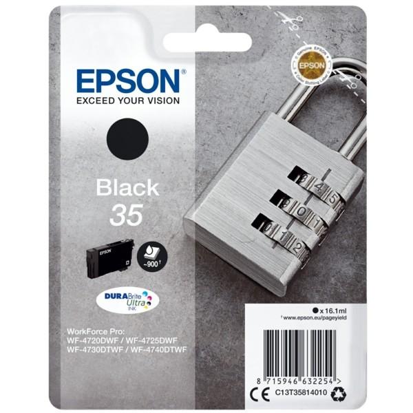 Original Epson C13T35814010 / 35 Tintenpatrone schwarz 16,1 ml 950 Seiten