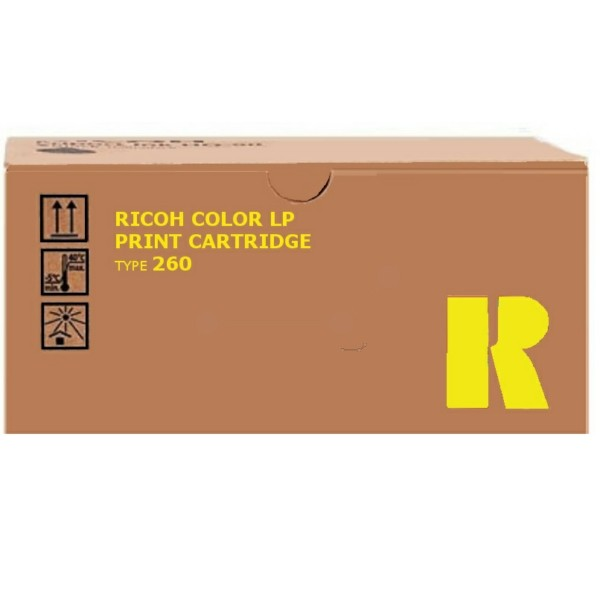 Original Ricoh 888447 / TYPE 260 Toner gelb 10.000 Seiten