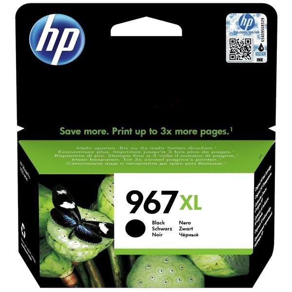 Original HP 3JA31AE / 967XL Tintenpatrone schwarz 68,72 ml 3.000 Seiten
