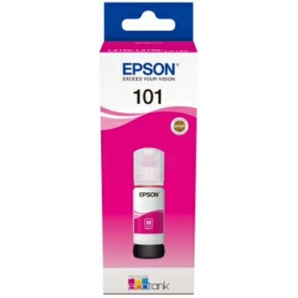 Original Epson C13T03V34A / 101 Tintentank magenta 70 ml