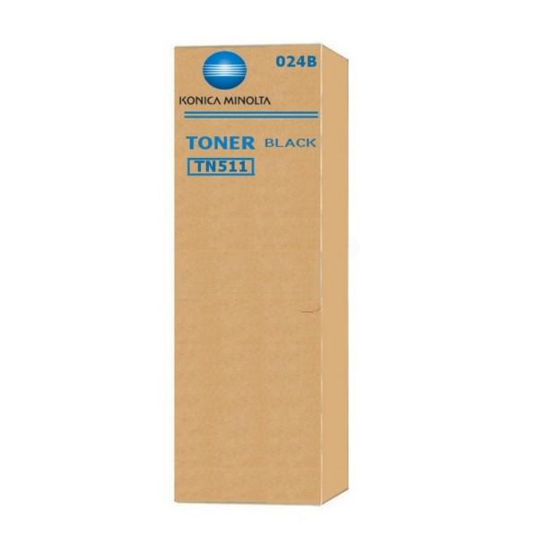 Original Konica Minolta 024B / TN-511 Toner schwarz 32.200 Seiten
