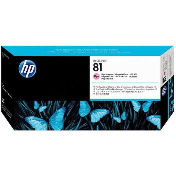 Original HP C4955A / 81 Druckkopfpatrone magenta hell 13 ml