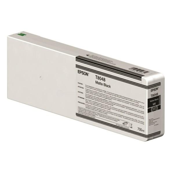 Original Epson C13T804800 / T8048 Tintenpatrone schwarz matt 700 ml