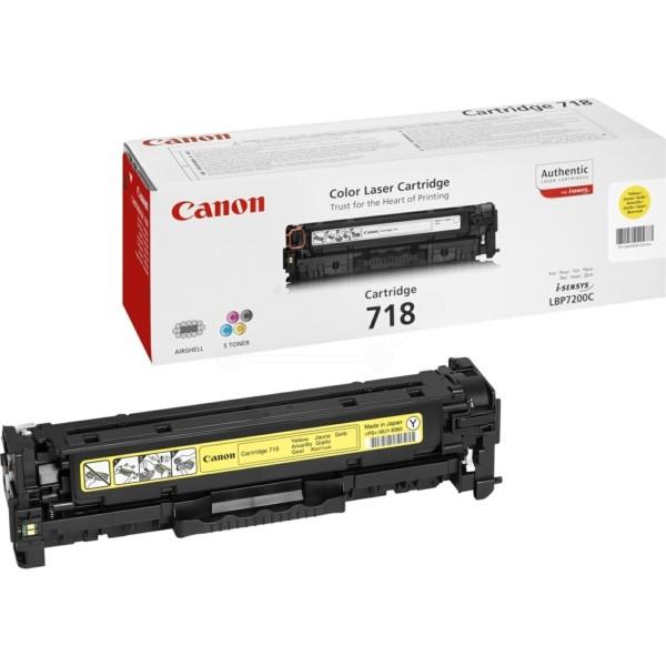 Original Canon 2659B002 / 718Y Tonerkartusche gelb 2.900 Seiten