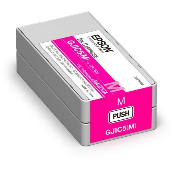 Original Epson C13S020565 / GJIC5(M) Tintenpatrone magenta 32,5 ml