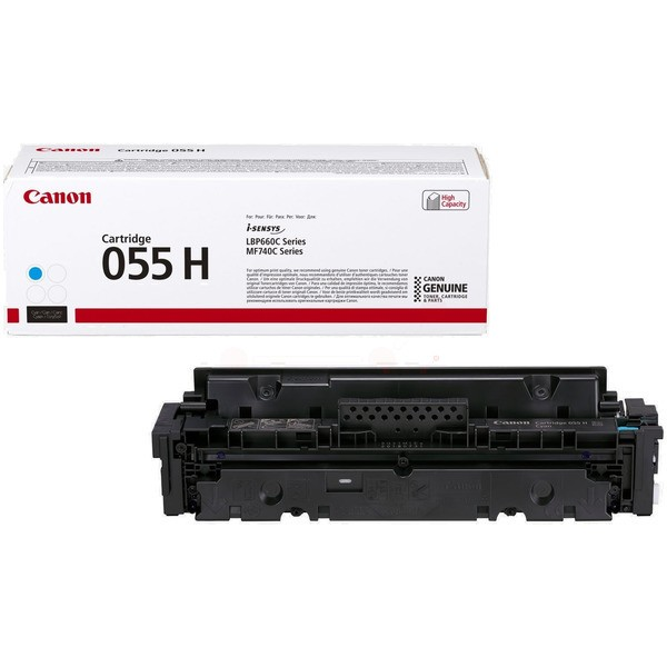 Original Canon 3019C002 / 055 H Tonerkartusche cyan 5.900 Seiten