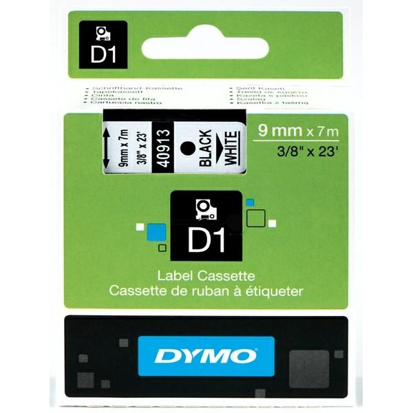 Original Dymo 40913 / S0720680 DirectLabel-Etiketten schwarz auf weiss
