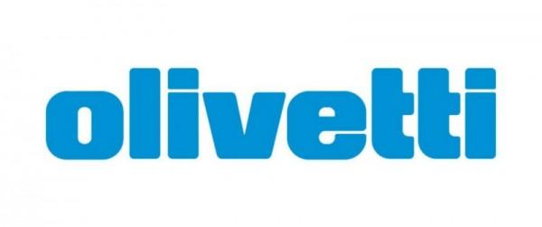 Original Olivetti 80406 Nylonband schwarz-rot