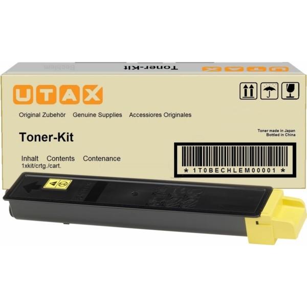 Original Utax 662511016 / CK-8510 Y Toner-Kit gelb 12.000 Seiten