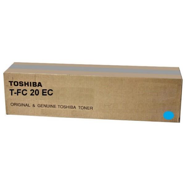 Original Toshiba 6AJ00000064 / T-FC 20 EC Toner cyan 16.800 Seiten