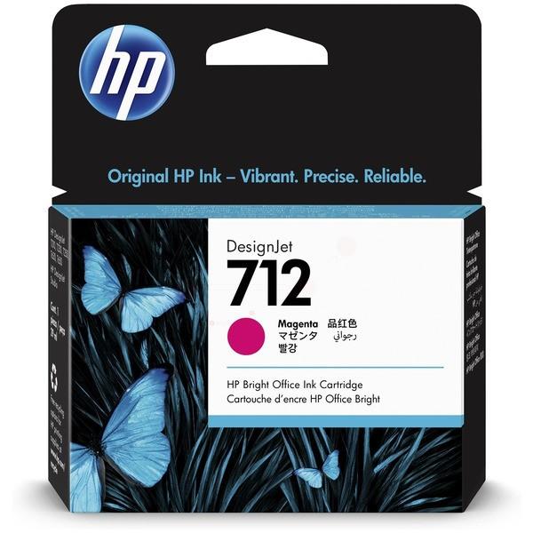Original HP 3ED68A / 712 Tinte magenta 29 ml