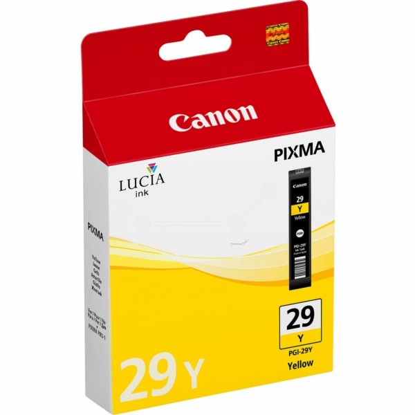 Original Canon 4875B001 / PGI-29 Y Tintenpatrone gelb 36 ml 1.420 Seiten
