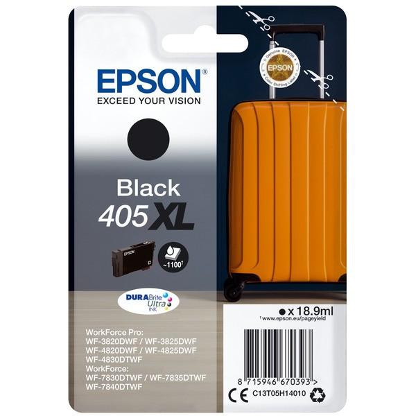Original Epson C13T05H14010 / 405 XL Tintenpatrone schwarz 18,9 ml 1.100 Seiten