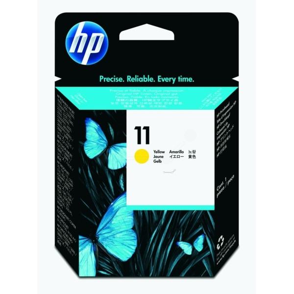Original HP C4813A / 11 Druckkopf gelb 8 ml 16.000 pg/bk 24.000 pg/c