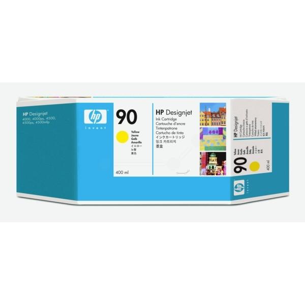 Original HP C5065A / 90 Tintenpatrone gelb 400 ml 750 Seiten