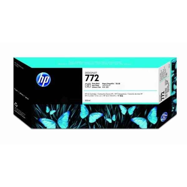 Original HP CN633A / 772 Tintenpatrone schwarz foto 300 ml