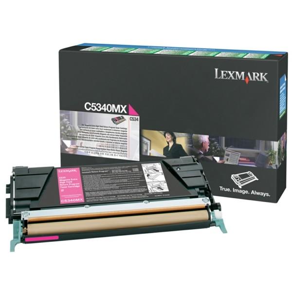 Original Lexmark C5340MX Toner-Kit magenta return program 7.000 Seiten