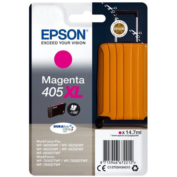 Original Epson C13T05H34010 / 405 XL Tintenpatrone magenta 14,7 ml 1.100 Seiten