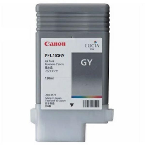Original Canon 2213B001 / PFI-103 GY Tintenpatrone grau 130 ml