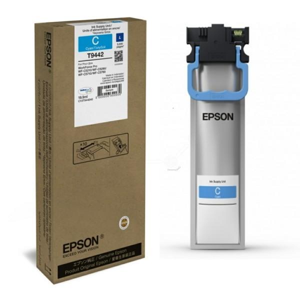 Original Epson C13T944240 / T9442 Tintenpatrone cyan 19,9 ml 3.000 Seiten